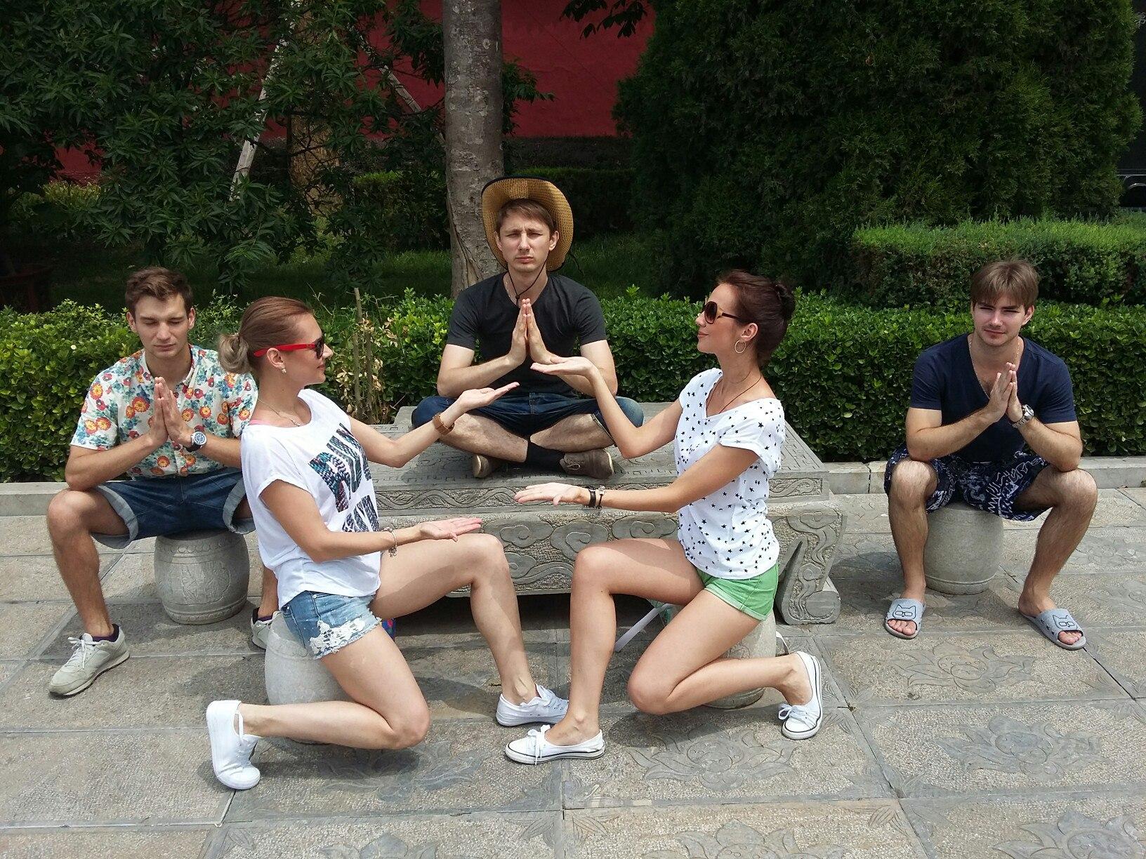 ДэГео в Китае